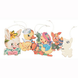 SALE! Ornaments Retro Easter