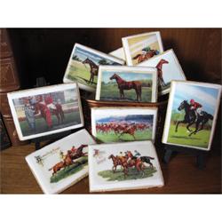 Vintage Horse Prints Wafer Paper