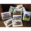 Vintage Horse Prints Wafer Paper, Set of 22