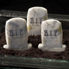Halloween Tombstones Wafer Paper