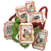 Vintage Christmas Collage Wafer Paper