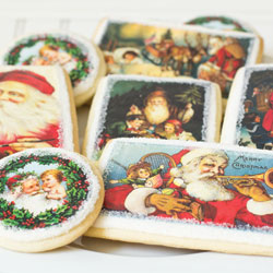 Holiday Victorian Postcards Wafer Paper