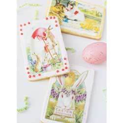 Easter Vintage Postcards Wafer Paper