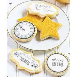 Happy New Year 2016 Wafer Paper