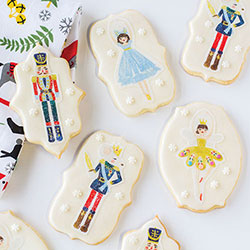 Nutcracker Ballet Wafer Paper