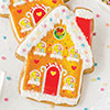Gingerbread House Wafer Paper