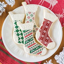 Christmas Pattern Wafer Paper