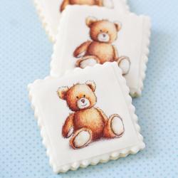 Teddy Bear Wafer Paper