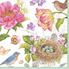 Spring Sketchbook Lunch Napkin