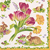 SOS!  Easter Bouquet Lunch Napkins