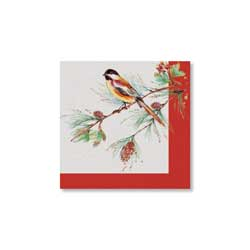 SALE!  Winter Song Lunch Napkins