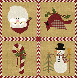 Winter Friends Luncheon Napkins