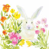Oh So Bunny Paper Lunch Napkins, Pkg of 20