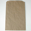 Kraft Bags with Embossed Button Design, Set of 12
