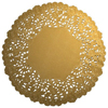 DP!  Gold Paper Doilies 4, Package of 20
