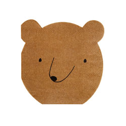 SALE!  Happy Bear Paper Napkin