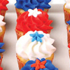 Mini Patriotic Cupcakes How-To
