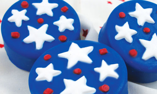 Party Stars Oreo Cookie Mold How-To