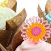 Spring Flower Cupcakes How-To
