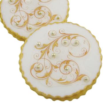 Fancy Filigree Cookies How-To
