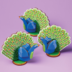 Julia Usher's Peacock Cutter Set