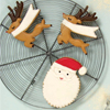Jingle All the Way Christmas Cookie Cutters, Set of 2