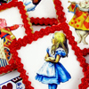 Alice in Wonderland Cookies How-To