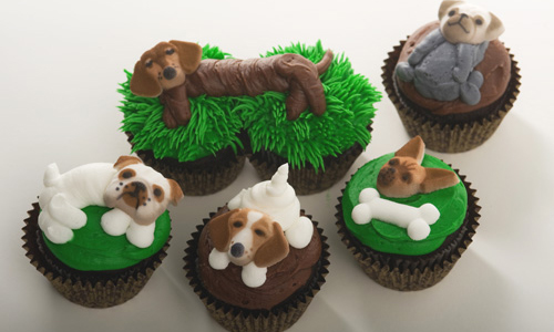 Doggy Cupcakes How-To, Make Doggy Cupcakes for the Dog ...