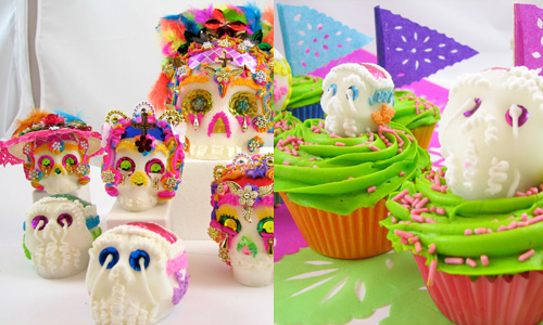 Sugar Skulls How-To