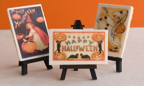 Halloween Postcard Cookies How-To