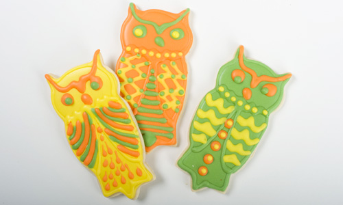 Owl Cookies How-To