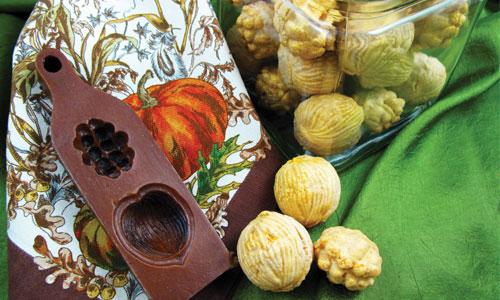 Golden Nut Filled Cookies Recipe