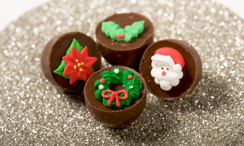 Easy Holiday Chocolates How-To