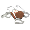 Cookie Cutter Baseball Set of 6, Tin