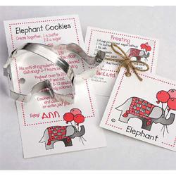 Elephant Cookie Cutter,  Ann Clark