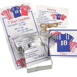 DP!  Football Jersey/Tee Shirt Cookie Cutter, Ann Clark