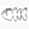 Cookie Cutter Fishbone, Stainless Steel