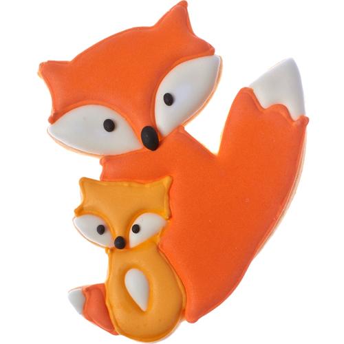 Fox Pair Cookie Cutter Fancy Flours