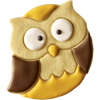 Frido Owl Cookie Cutter