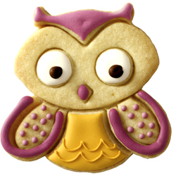 Cookie Cutter Hugo Owl, Stainless Steel