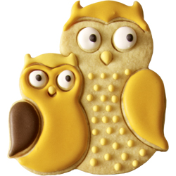 Owl Pair Cookie Cutter