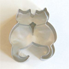 Cookie Cutter Pair of Cats, Stainless Steel