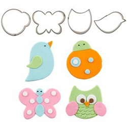 Cutie Flutter Friends Cutters Set
