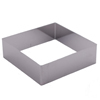SALE!  Cookie Cutter Square 4.25 Stainless Steel