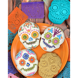 Sweet Spirits Day of the Dead Cookie Cutter Set