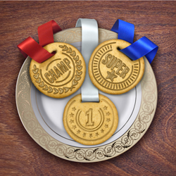 Edible Medals Top Cookie Cutters