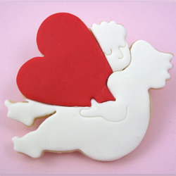 Falling in Love Cupid Cookie Cutter, Hammer Song