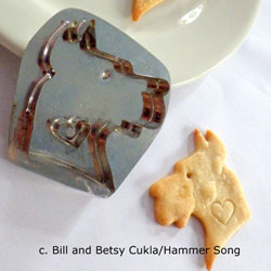 Great Dane Cookie Cutter, Hammer Song