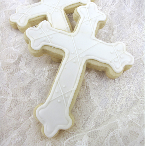 byzantine cross cookie cutter large