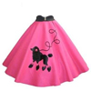 Cookie Cutter Poodle Skirt Copper